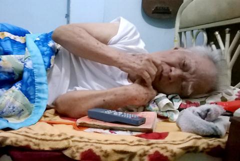 Nghẹ lòng tuổi già khốn khó của nhạc sĩ Nguyễn Văn Tý