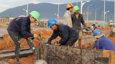 Lao động TQ đang làm việc tại Formosa Hà Tĩnh