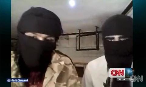 Hai chiến binh Hồi giáo trả lời phòng vẫn CNN