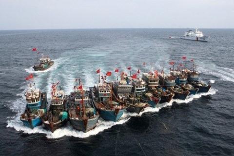 Tàu cá là một trong những chiến thuật tranh chấp biển đảo được Trung Quốc áp dụng trên Biển Đông.