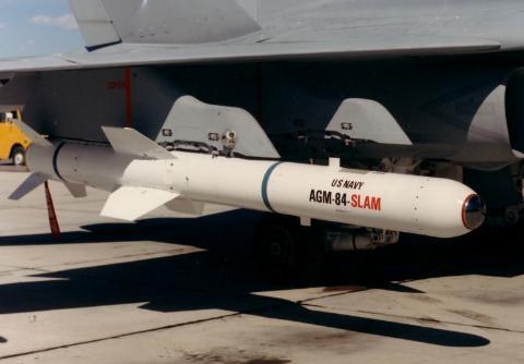 P-8A có khả năng chống hạm mạnh mẽ với tên lửa không đối hạm AGM-84E SLAM