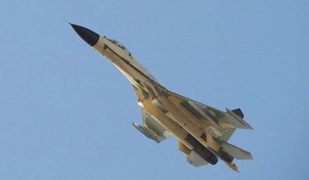 Máy bay chiến đấu J-16 được Trung Quốc nhái hoàn toàn của Su-30MKII của Nga