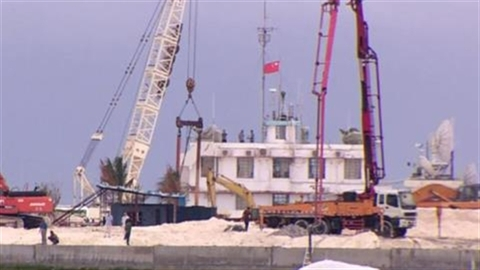 Việt Nam lên tiếng việc Trung Quốc xây đảo Gạc Ma