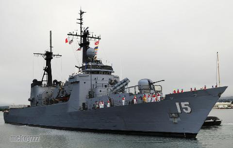 Tàu tuần tiễu  BRP Gregorio del Pilar (PF-15) của Philippines nguyên là tàu tuần tiễu lớp Hamiltoncủa Mỹ