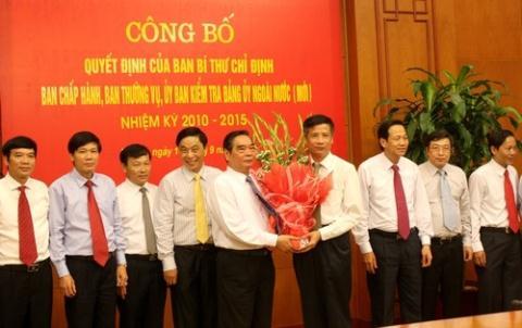 Ban Bí thư công bố quyết định về Đảng ủy Ngoài nước