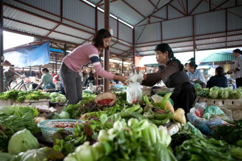 Năm 2020 định hướng 2030, khu vực nội đô Hà Nội sẽ nâng cấp toàn bộ chợ thành siêu thị, trung tâm thương mại