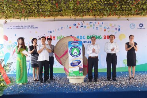 Bắc Ninh: Sữa học đường đến các trường mầm non