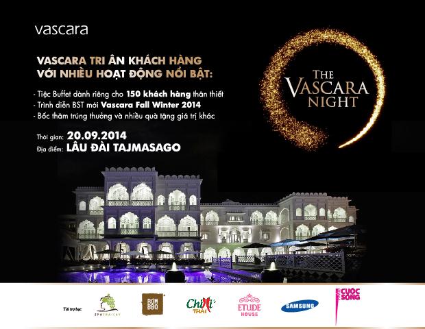 Vascara tổ chức sự kiện tri ân khách hàng lớn nhất trong năm