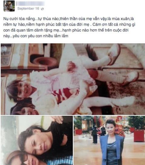 Mẹ Hà Hồ đăng ảnh tuổi thơ của con giữa tâm bão