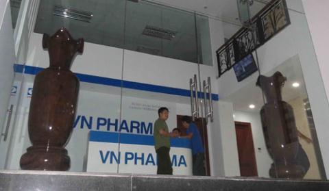 Ông chủ Công ty VN Pharma bị bắt