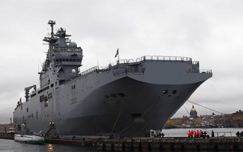 Pháp vẫn đóng Mistral thứ 2 cho Nga hậu mâu thuẫn Ukraine