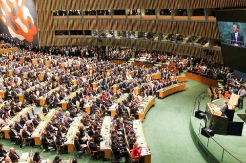 Tổng thống Mỹ Obama phát biểu tại Liên hợp quốc