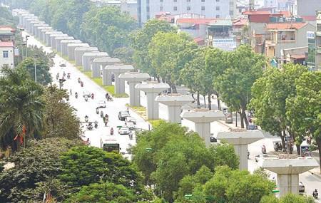 Dự án đường sắt đô thị tuyến Cát Linh - Hà Đông phải bổ sung thêm 339,6 triệu USD