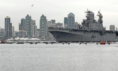 """Tàu đổ bộ tấn công LHA-5 """"USS Peleliu"""" của Mỹ"""