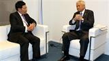 Việt Nam-Philippines bàn cách giải quyết vấn đề Biển Đông