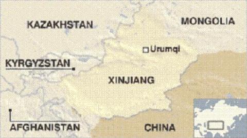 Afghanistan có vị trí địa lý rất gần Tân Cương