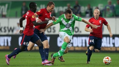 Krasnodar và Wolfsburg.
