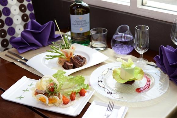 Những món ăn của Chef Hiệp tại khách sạn Mövenpick Hà Nội (Ảnh: Gafin)