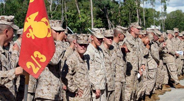 Khoảng 2.500 quân Mỹ đồn trú thường xuyên tại Darwin, Australia
