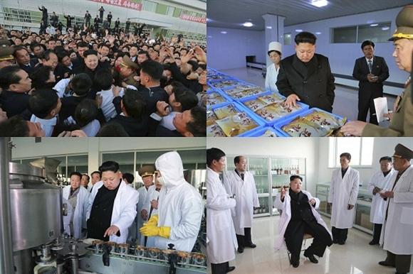 Nhà lãnh đạo Triều tiên Kim Jung-un đi kiểm tra Nhà máy 20-2 của Quân đội Nhân dân Triều tiên và đưa ra những chỉ thị tại chỗ.