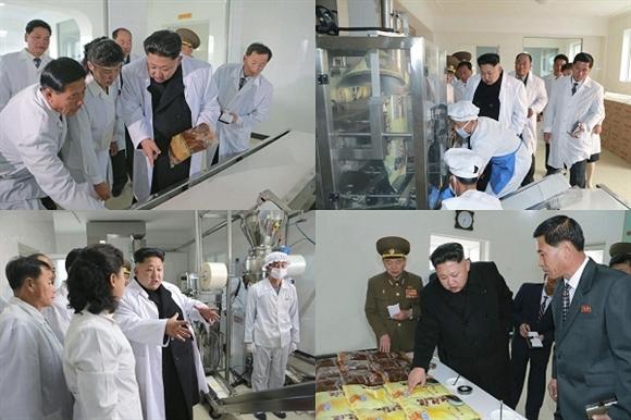 Nhà lãnh đạo Kim Jong-un đưa ra các chỉ thị tại chỗ trong chuyến thăm Nhà máy Liên hợp Chế biến Thực phẩm thuộc Đơn vị 534, Quân đội Nhân dân Triều Tiên. Tại nhà máy, nhà lãnh đạo Triều Tiên đã đi kiểm tra các loại thực phẩm, quy trình chế biến ngô, xát gạo.