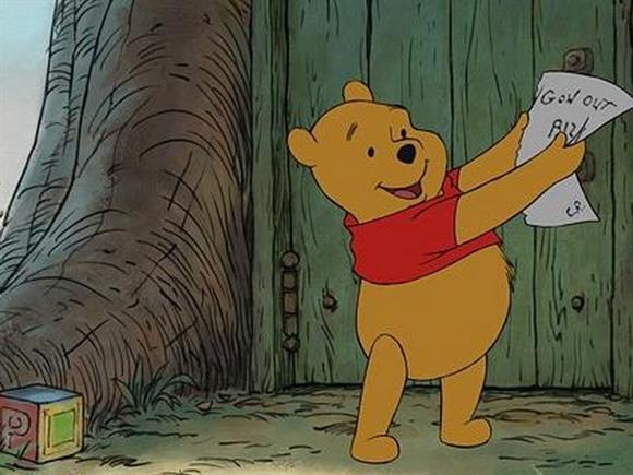 Gấu Pooh bị cấm vì