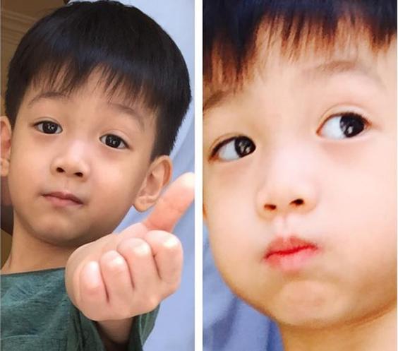 Hồ Ngọc Hà sợ con trai quên mình trong ngày sinh nhật