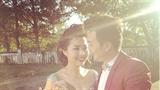 Xôn xao ảnh cưới của Lê Khánh và chồng rất điển trai
