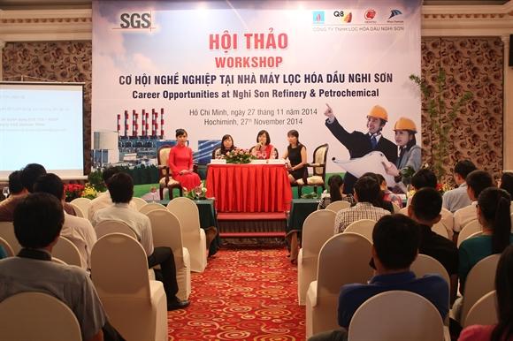 Hội thảo Cơ hội nghề nghiệp tại Nhà máy Lọc hóa dầu Nghi Sơn ( NSRP)