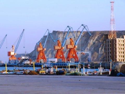 Cảng Gwadar tại Pakistan đang thuộc sự quản lý của một công ty quốc doanh Trung Quốc