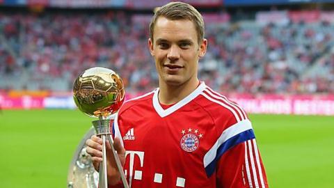 """Manuel Neuer đã tạo ra khái niệm mới """"thủ môn quét"""" độc nhất vô nhị."""