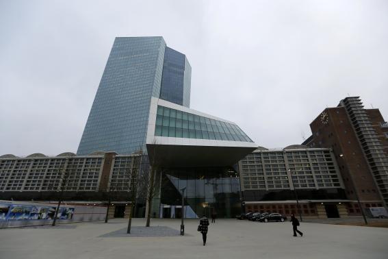 Trụ sở mới của ECB (Nguồn: Reuters)