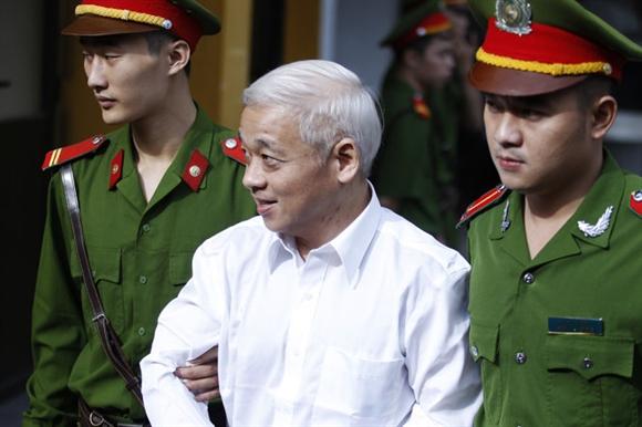 Bị cáo Nguyễn Đức Kiên (bầu Kiên)
