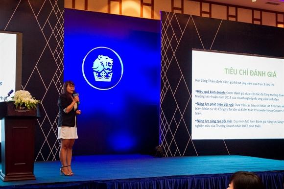 """Giải thưởng """"50 Nhà lãnh đạo doanh nghiệp – Mark of Respect 2014"""" mang đến cho doanh nghiệp nhiều giá trị hữu ích trong tương lai."""