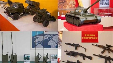 Dàn vũ khí thành tựu 70 năm Quân đội Nhân dân VN