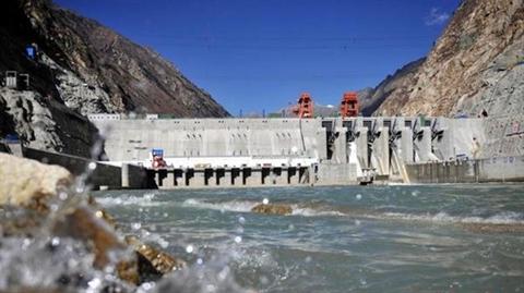 Đập thủy điện tại sông Zangmu ở Tây Tạng