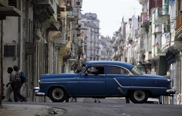 Xe cổ Chevrolet Styleline 1952 ở Havana