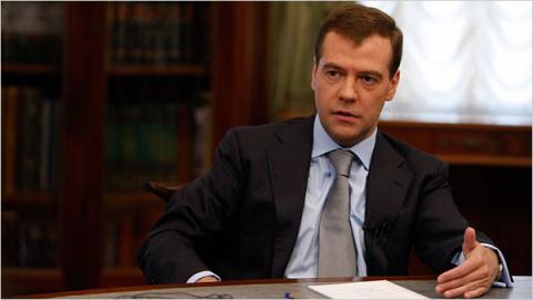 Thủ tướng Medvedev khẳng định Nga đã sẵn sàng đối phó