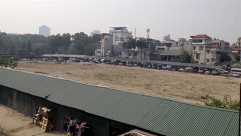 Bãi xe ngầm trong CV Thống Nhất: Hứa không hại cảnh quan!