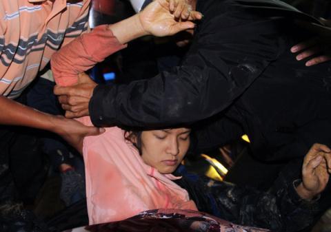Chị Đặng Thị Hồng Ngọc, 26 tuổi, nạn nhân nữ duy nhất trong vụ sập hầm