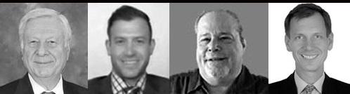 Từ trái sang: George Gero, Bill Baruch, Gary Wagner và Axel Merk