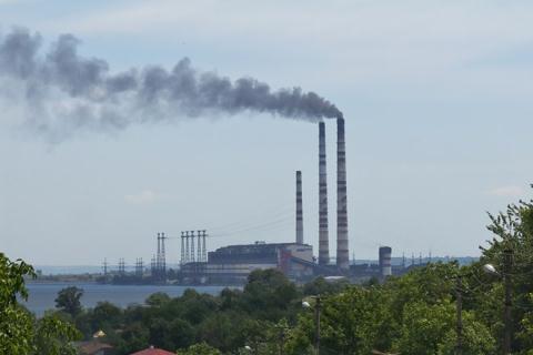 Một nhà máy nhiệt điện ở phía Tây Ukraine. (Nguồn: atlanticsentinel.com)