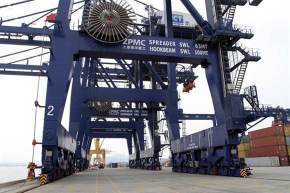 Cảng container quốc tế Cái Lân được trang bị hiện đại nhất trong các cảng biển khu vực miền Bắc.