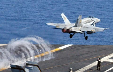 Tiêm kích F/A-18 của Hải quân Mỹ