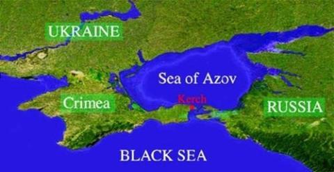 Trung Quốc đề nghị xây đường hầm dưới đáy biển qua eo biển Kerch