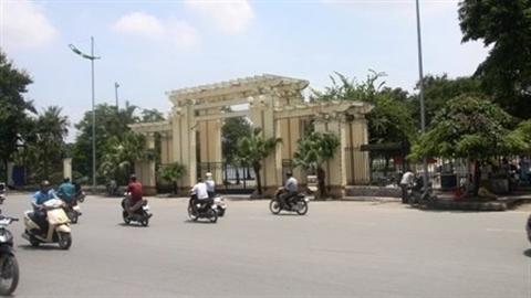 Bãi xe trong Công viên Thống Nhất: Hà Nội trần tình