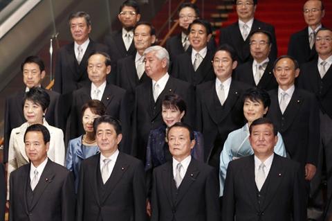 Ông Abe đã chọn tân bộ trưởng quốc phòng có lập trường cứng rắn giống mình