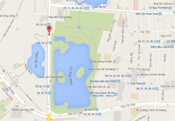 Công viên Thống Nhất, Hà Nội