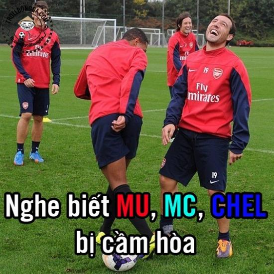 Không chỉ HLV Wenger vui mừng mà các học trò của ông cũng  đang rất phấn khích.