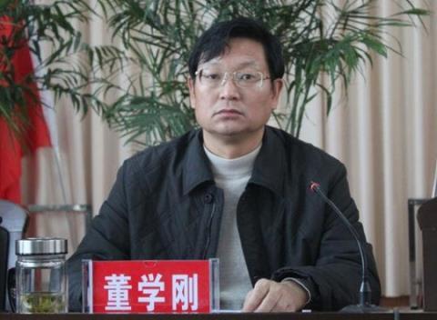 Ông Đổng Học Cương, Chủ nhiệm Ủy ban Công tác Kinh tế và Thông tin hóa thành phố Vận Thành, tỉnh Sơn Tây nhảy lầu hồi tháng 9/2014.